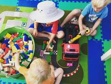 Cooperative Playtime at Preschool